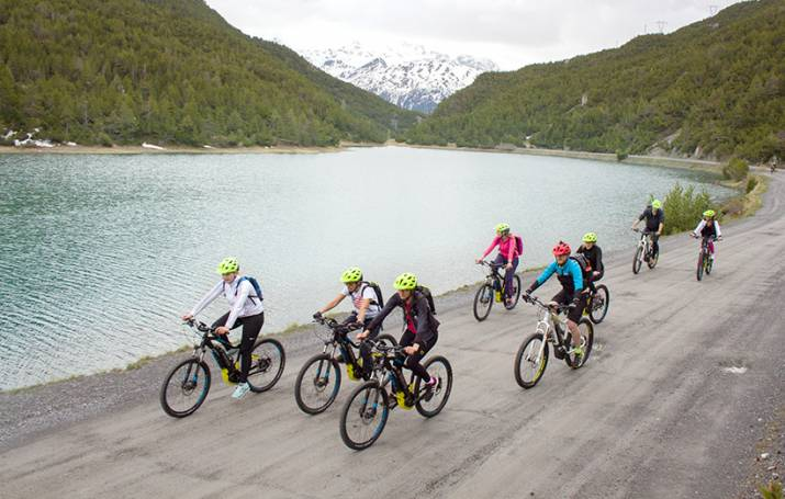 Cancano lakes e-Bike tour